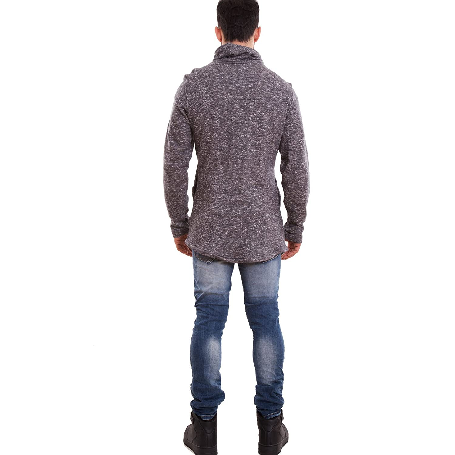 toocool?-?Jacket Long Sleeve Zip Laces Cotton High Collar Men's NEW A-1104