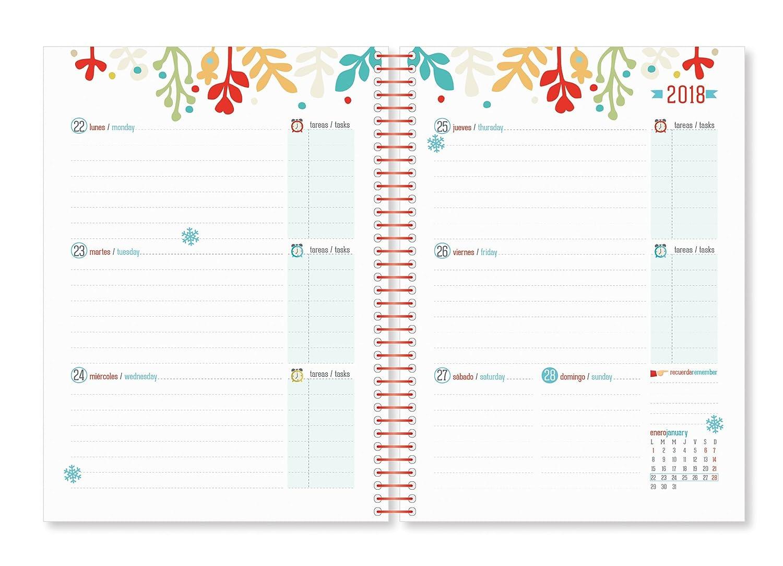 Tutticonfetti 273045 - Agenda escolar 18/19: Amazon.es ...
