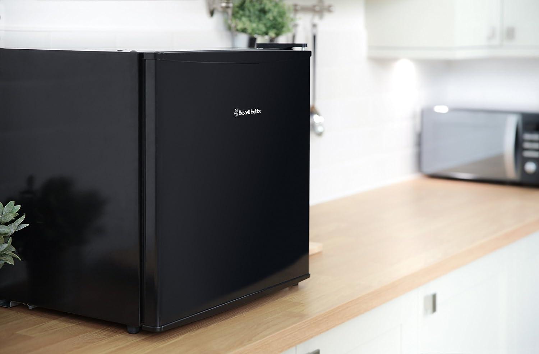 Kleiner Kühlschrank Schwarz : Klarstein manhattan mini kühlschrank liter klasse b schwarz zum
