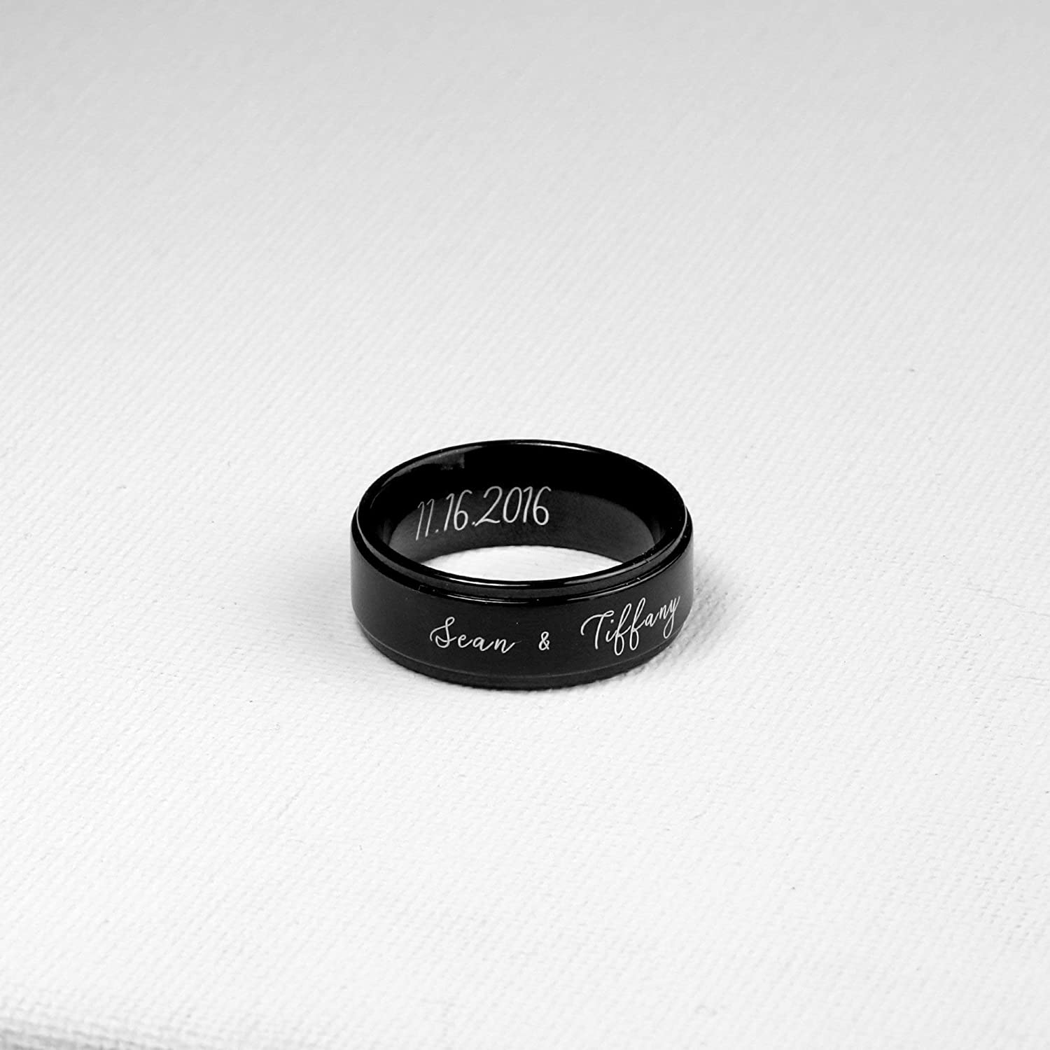 Same Day Shipping Before 12pm Boyfriend Gift Mens Ring Gift For Him