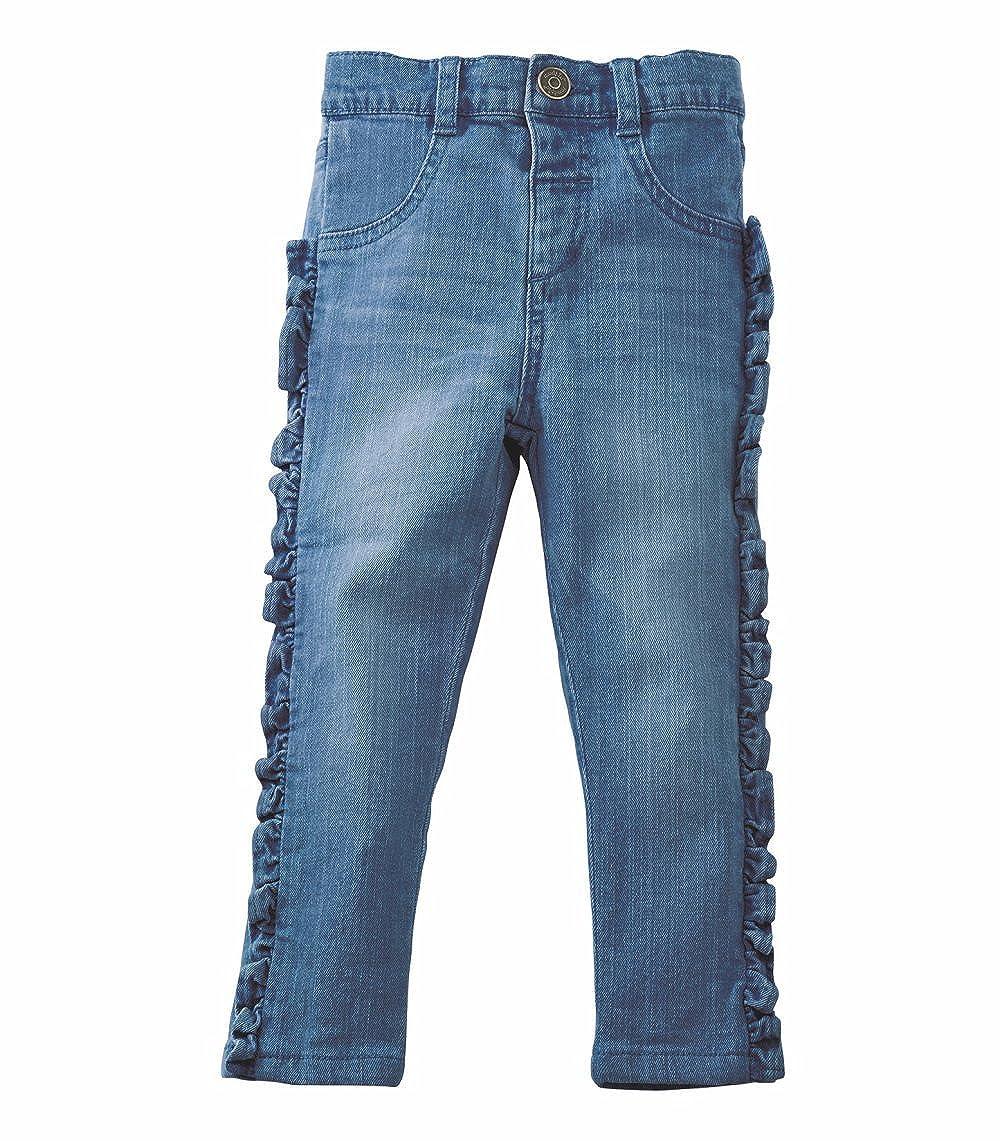 Mud Pie Girls Ruffle Jeans