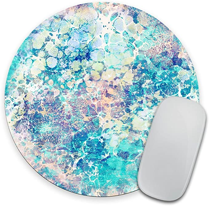 Black Marble MousePad Marble Mouse Pad Stone Mouse Mat Rubber MousePad Office Desk Accessories Pad Round Mat Rectangular Gift For Dad DE0220