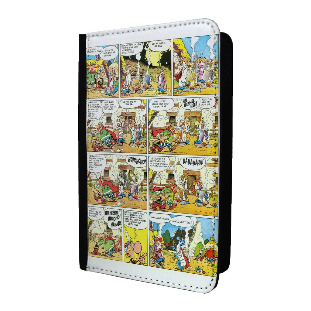 Asterix Obelix Dessin animé passeport Coque–St-t1693 Accessories4Life