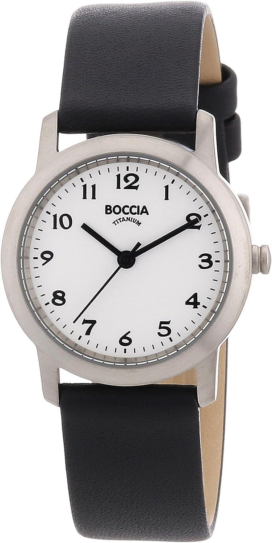Boccia Reloj Analógico de Cuarzo para Mujer con Correa de Piel – 5404503