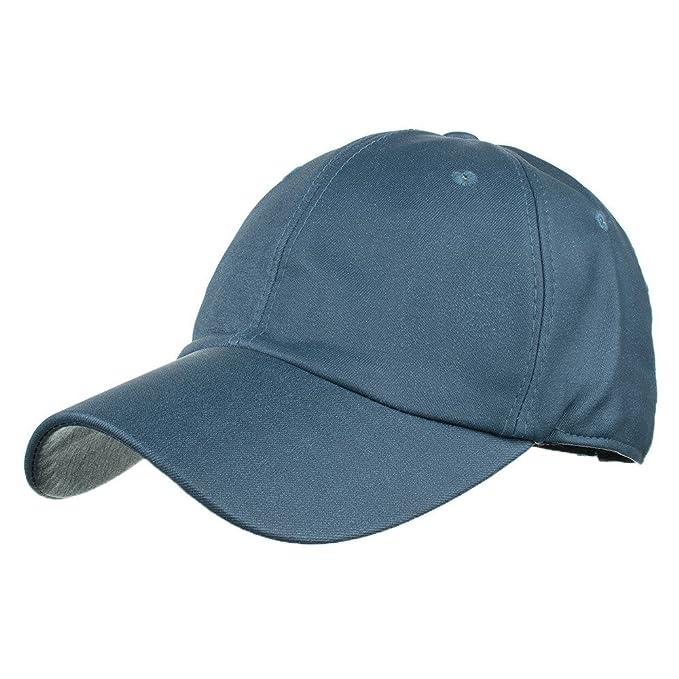 Dwevkeful Gorras Planas, Gorras de béisbol Seda Moda Casual Elegante Gorras Planas Sombrero del Sol Protector Solar Sombreros Casuales Hip Hop: Amazon.es: ...