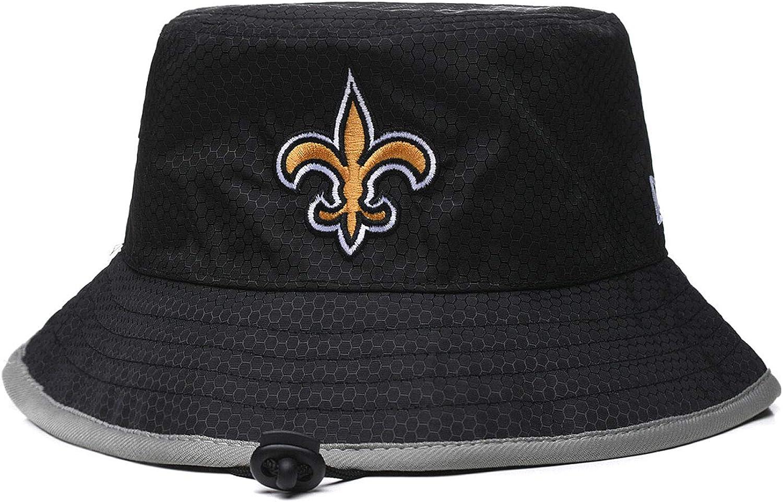 2020 Mens Team Icon Training Camp Bucket Hat/Fishing Hat Sideline Fisherman/'s Hat Black Football Grid Style