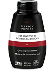 Spicy Maple Mustard, Maple and Harissa, 0.25 Liter