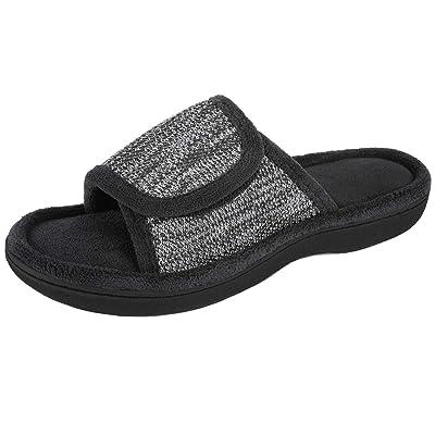 RockDove Women's Adjustable Wrap Memory Foam Slide | Slippers
