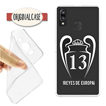 Funda Carcasa Funda Real Champions 13 Reyes DE Europa Madrid KIEV 2018 Huawei P20 Lite