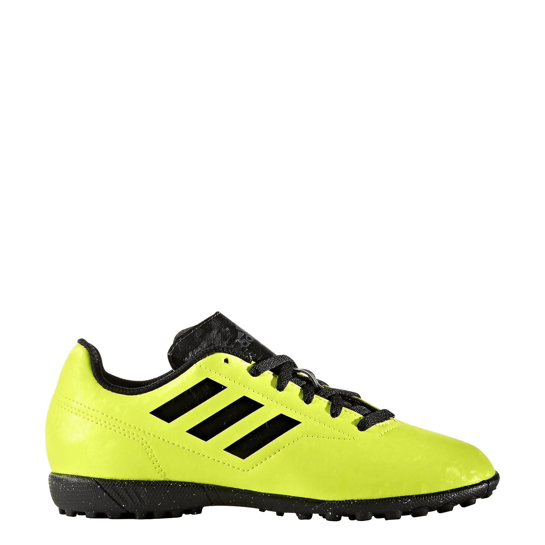 Adidas Conquisto II TF J AQ4335 Giallo Sneakers Bambino Scarpe Sportive Calcetto