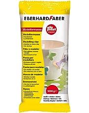 Eberhard Faber 570101 - Modelliermasse EFAPlast classic, 1 kg, weiß