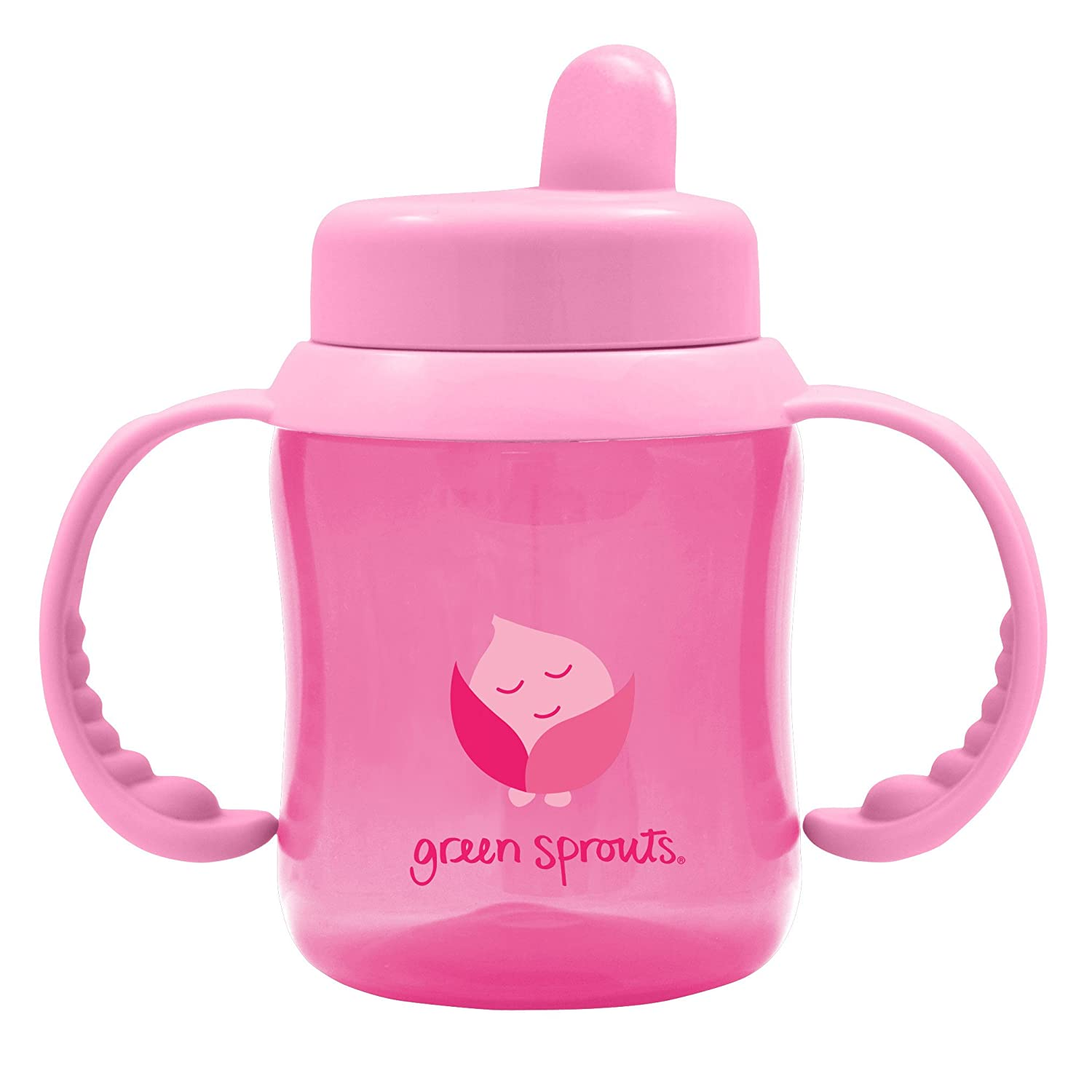 海外直送品Flip Top Sippy, Pink 1 Ct by Green Sprouts   B00GD0YWSW