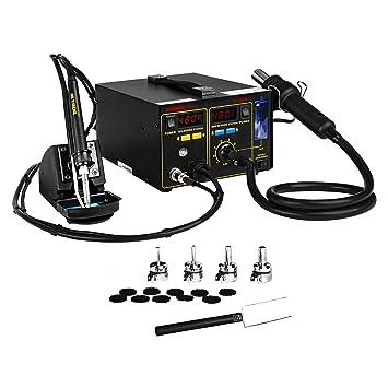 Stamos Soldering - S-LS-16 Basic - Estación de soldadura - SMD - 75 W - 2 x LED - Envío Gratuito: Amazon.es: Bricolaje y herramientas