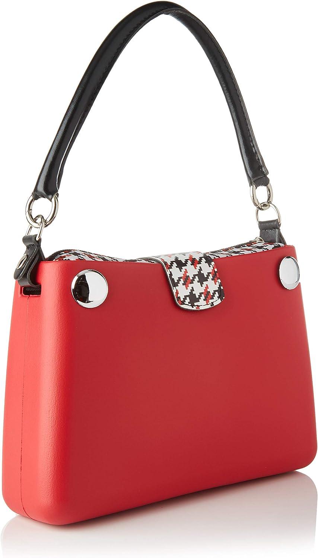 OBAG Borsa Mini, Pochette da Giorno Donna, 34x12x28 cm (W x H x L) Rosso (Rosso)