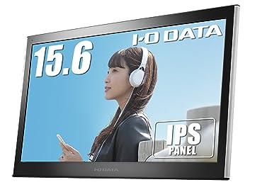 I-O DATA 15.6型/モバイルモニター/薄型/IPSパネル/mini HDMI/USB-C給電/ケース付/3年保証 LCD-MF161XPのサムネイル画像