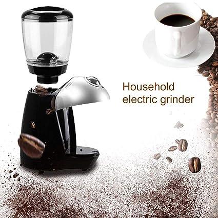 Lorenlli Máquina Profesional de Molinillo de café Máquina de molienda eléctrica Equipada con 420 Discos de