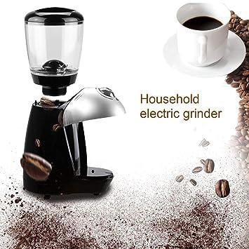 Lorenlli Máquina Profesional de Molinillo de café Máquina de molienda eléctrica Equipada con 420 Discos de molienda de Acero Inoxidable: Amazon.es: Hogar