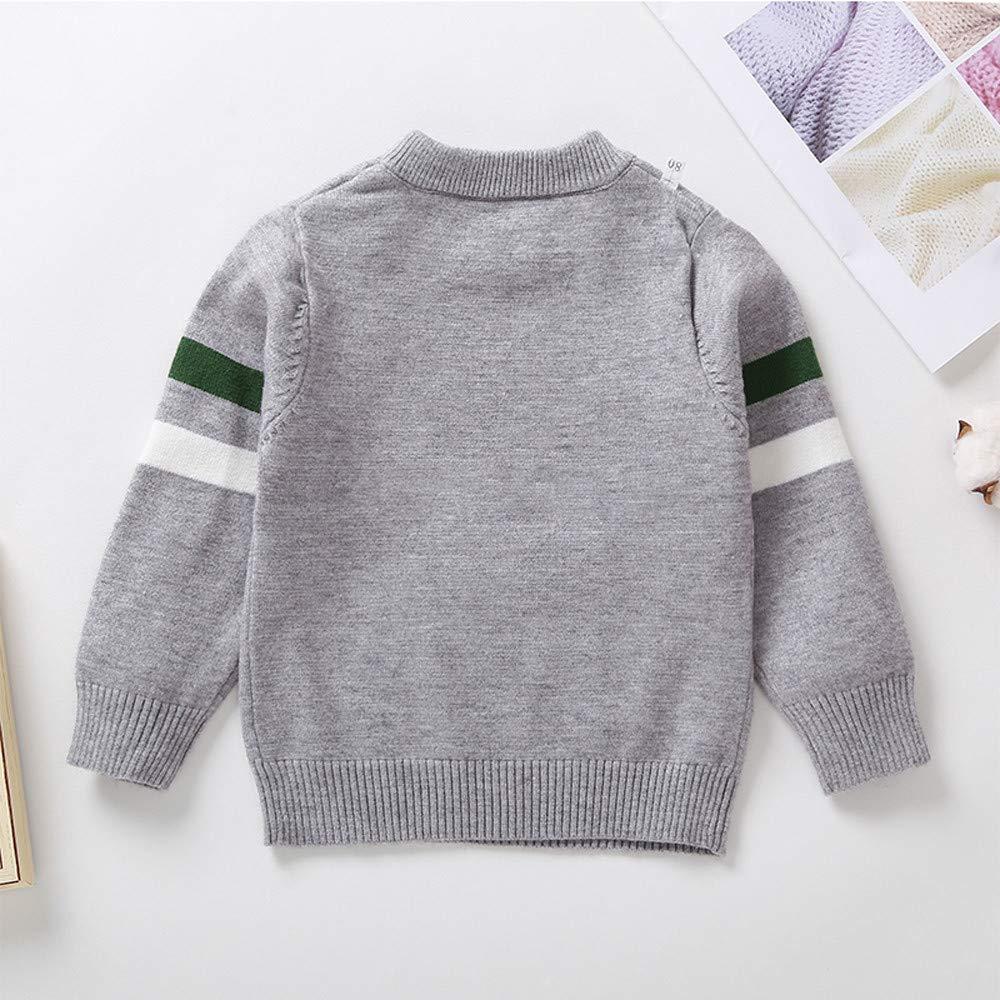 Winter Baby Sweater,Fineser Lovely Toddler Kids Baby Boy Long Sleeves Cartoon Crocodile Blouse Sweater Sweatshirt Tops