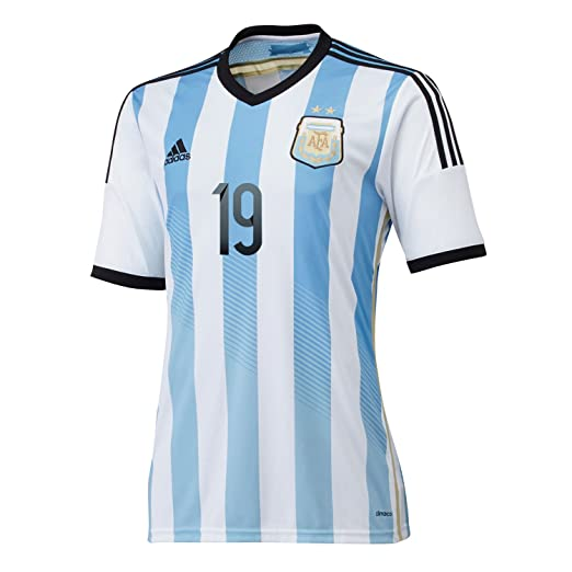 43da5665124 Amazon.com  Adidas LISANDRO  19 Argentina Home Jersey World Cup 2014   Clothing