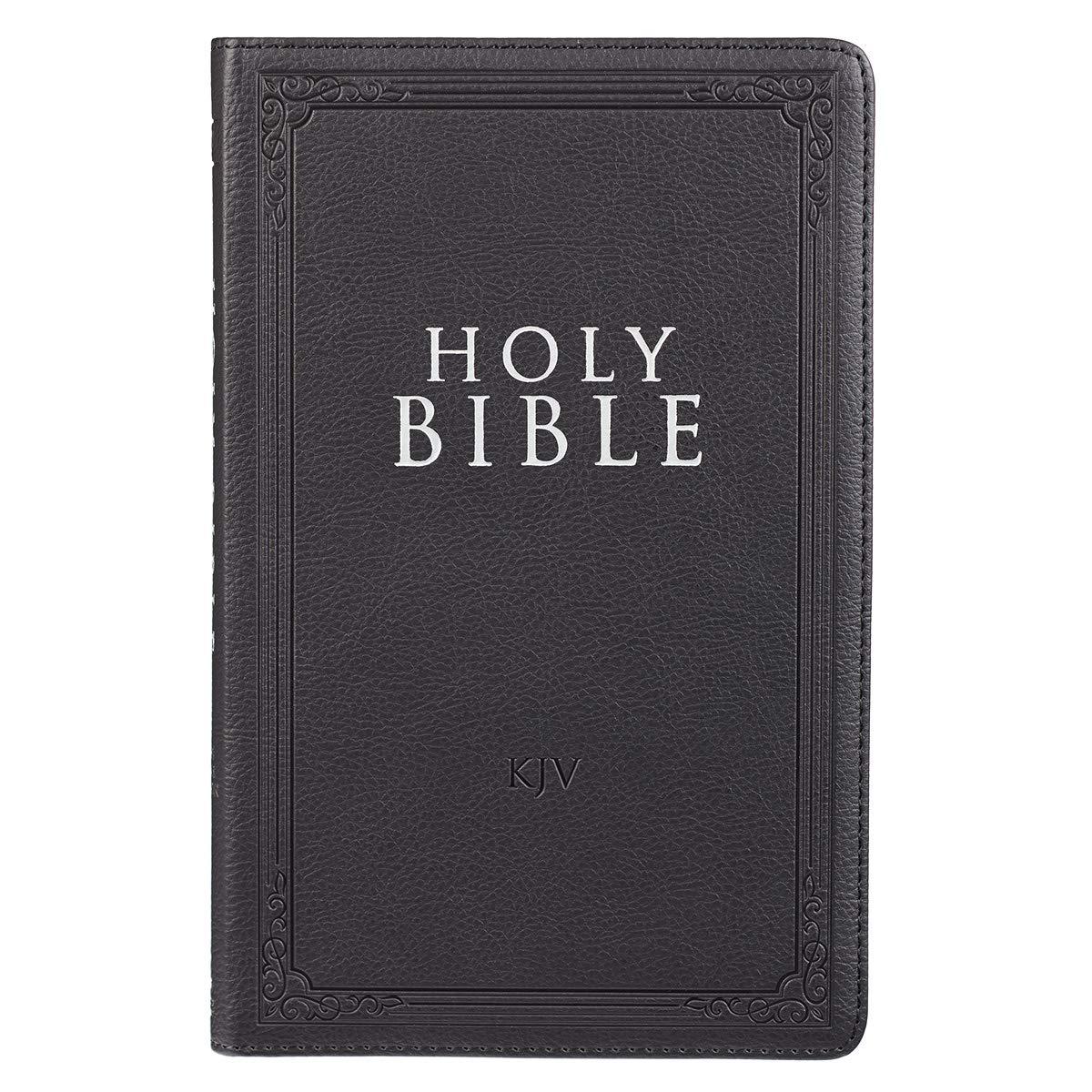 Read Online Holy Bible: KJV Thinline Flexcover Edition: Black pdf epub