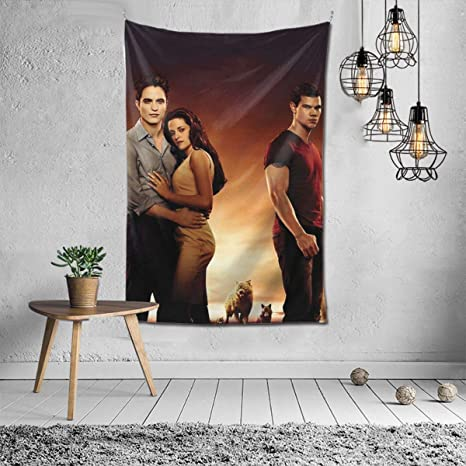 Amazon Com Junip Bella Swan Twilight Tapestry Wall Hanging Decor Blanket For Bedroom Living Room Dorm Tapestry 6040inch Home Kitchen