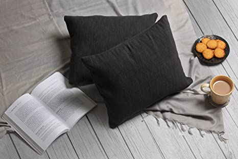 Divano Nero Cuscini : Regalo giorno madre nero cuscino di tiro copre l argomento