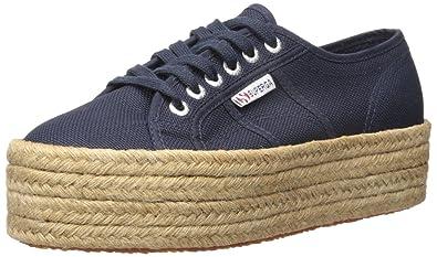 bca193cf4 Superga 2790 Cotropew Fashion Sneaker, Navy, 41.5 EU / 10 M US Women's