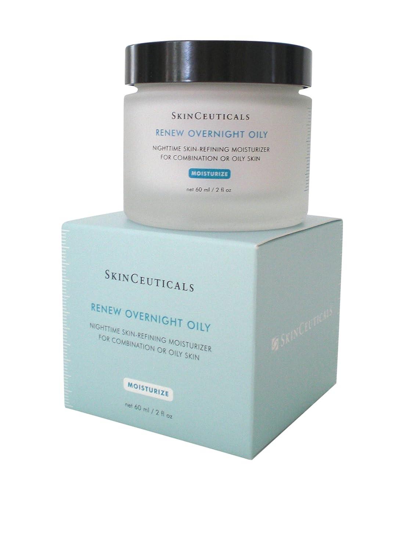 B001CJFEJU Skinceuticals Renew Overnight Oily Nighttime Skin-refining Moisturizer For Combination Or Oily Skin, 2-Ounce Jar 71qscrkDuiL._SL1500_