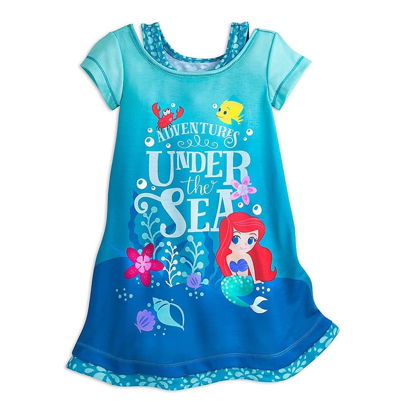 Disney Ariel Nightshirt Girls Blue 4902055252052400