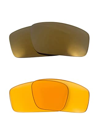 a68f2a25b98 Image Unavailable. Image not available for. Color  Square Wire (2006)  Replacement Lenses Hi Yellow   Gold by SEEK fits OAKLEY