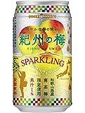 ポッカサッポロ 紀州の梅スパークリング 350ml缶×24本入