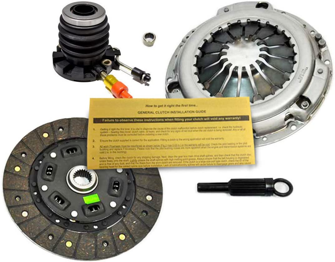 Automotive Clutch And Slave Kit Works With Ford Ranger Mazda B2300 ...
