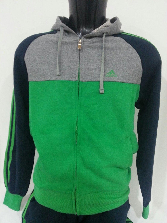Adidas Tuta Uomo Felpa con Zip AN8821