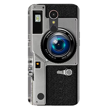 watch eac54 90f43 LG K10 2017 Back Cover/ LG K10 2017 Camera Printed Grey: Amazon.in ...