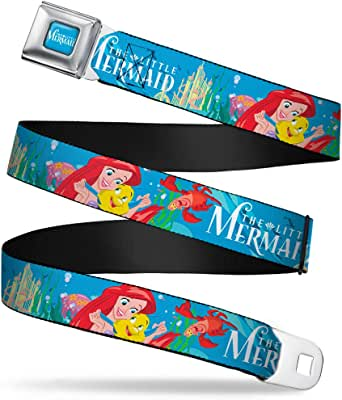 1.5 Wide Buckle-Down Seatbelt Belt 24-38 Inches in Length Electric SpongeBob Poses//Elements Black//Multi Color