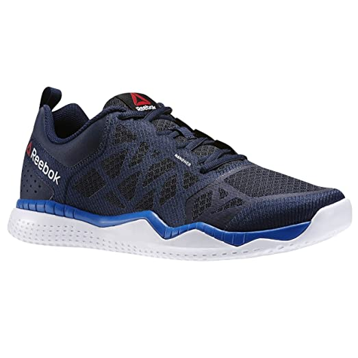 Reebok Men's Zprint Train, NAVY/BLUE SPORT/WHITE, ...