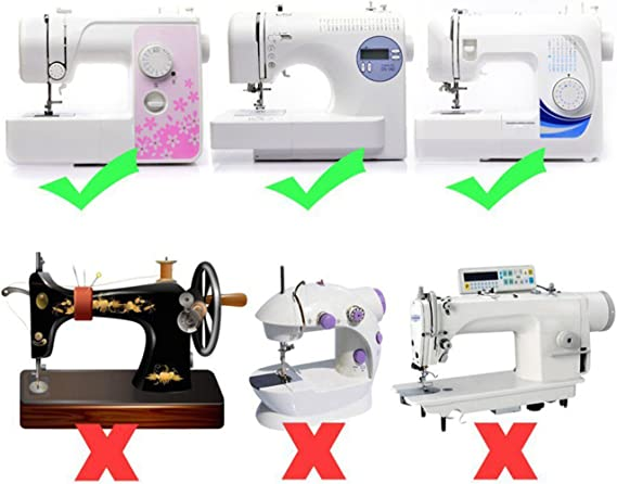 IZOKEE 42 Piezas Prensatelas Multifuncional para Máquina de Coser ...