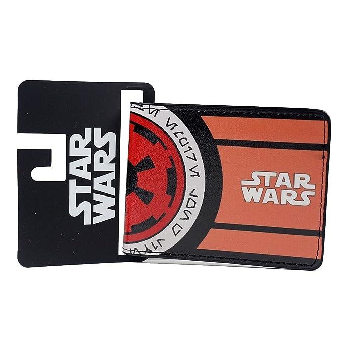 Star Wars Galactic Empire Symbol Bi Fold Mens Boys Wallet With Gift