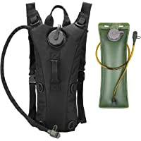 Hydration Carrier Bag with Hydration Bladder Water Reservoir Pack, Oumers Reservoir Hydro Packs Bag Set Portable Foldable 3L Backpack for Outdoor Adventure Sports Cycling Hiking Climbing Running