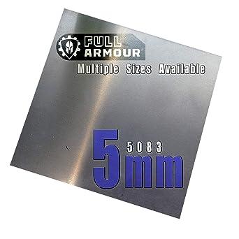 Piastra in alluminio 5083 spessore 10 mm