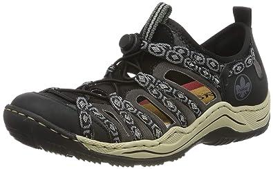 Rieker Damen L0583 02 Sneaker