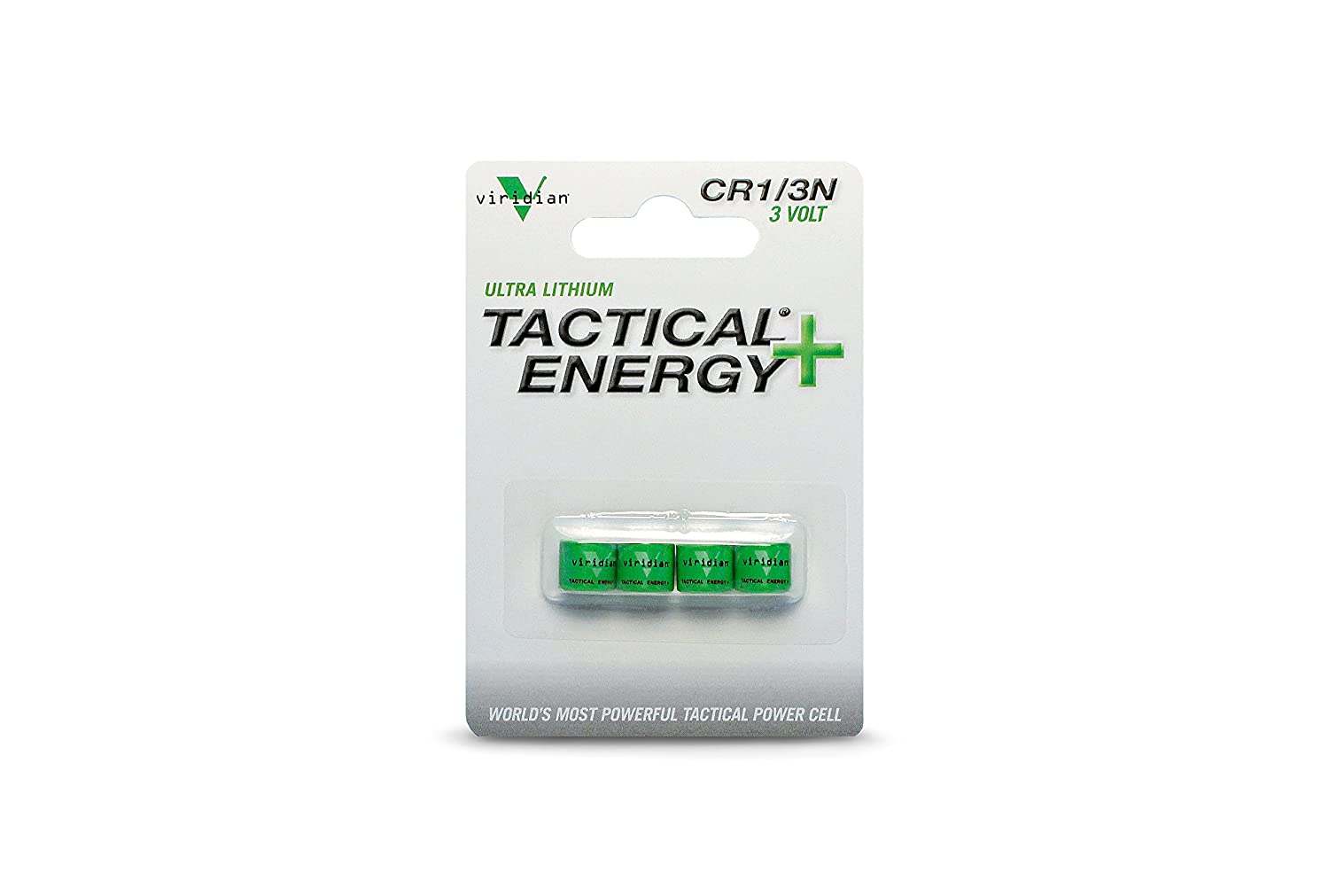 Viridian CR1/3N 3V Lithium Battery (4-Pack)