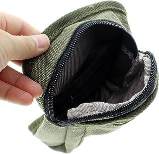 Mini facile à porter Sac pour voyage, alpinistes, vacances de vert avec crochets
