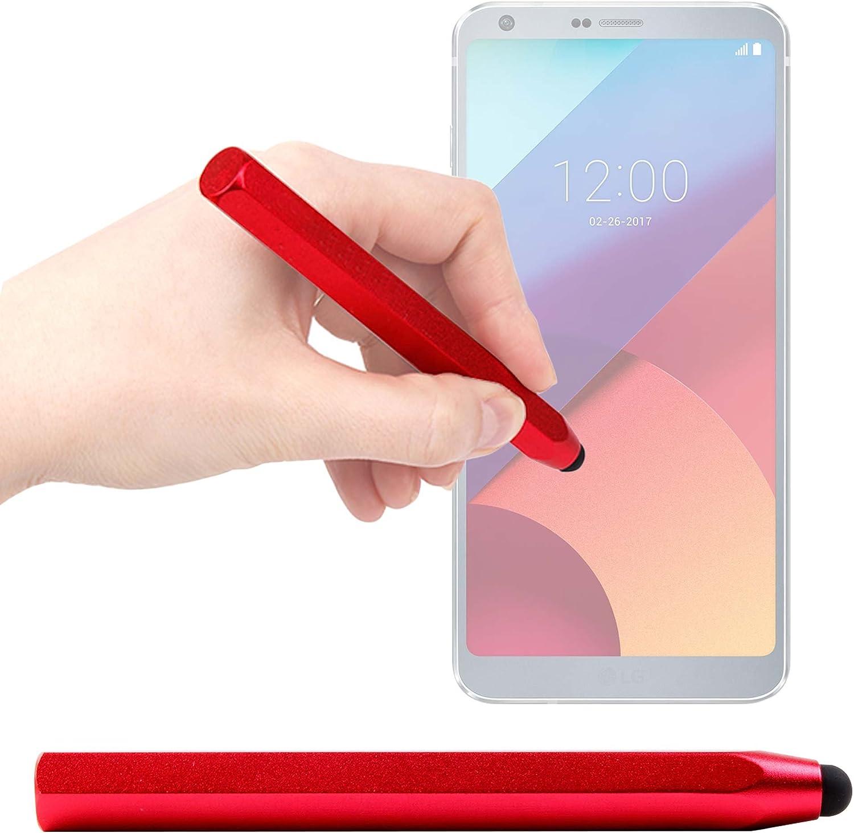 DURAGADGET Lápiz Stylus Rojo para Smartphone LG 306G, LG Aristo ...