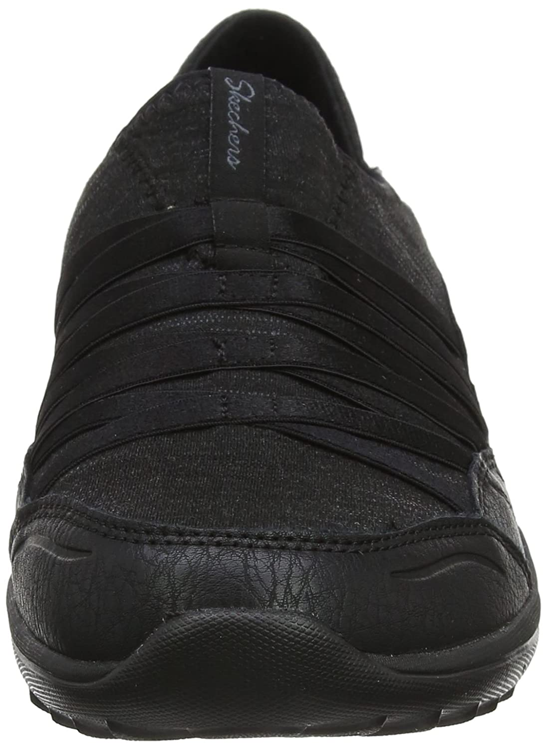 Skechers Be-Light-On The Groove, Zapatillas para Mujer, Negro (Black), 40 EU