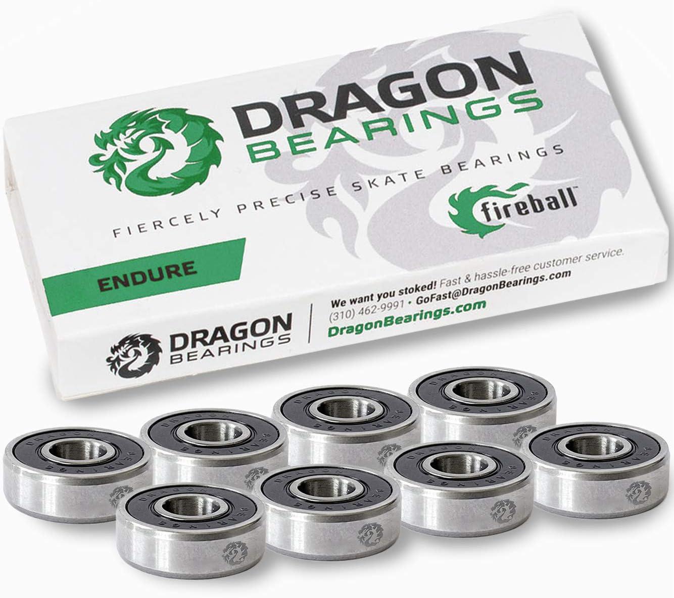 Fireball Dragon Precision Skateboard Bearings