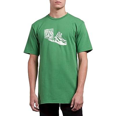 Volcom Men's Leaner Short Sleeve Basic Fit Tee: Clothing
