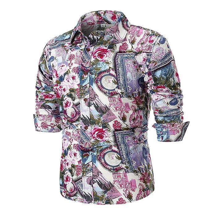 YanHoo Protección contra el frío Blusa Superior de la Camisa de Manga Larga Delgada Ocasional del Verano de los Hombres de la Personalidad Enviar Amigos ...
