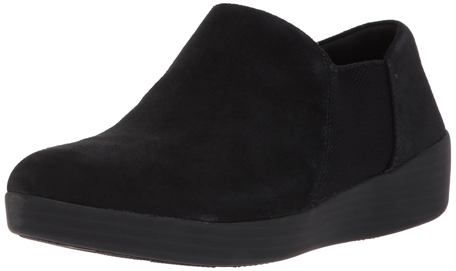 FitFlop Women's Elastic Panel Shoe Bootie Ankle Boot B073ZKHKWM 8.5 B(M) US|Black