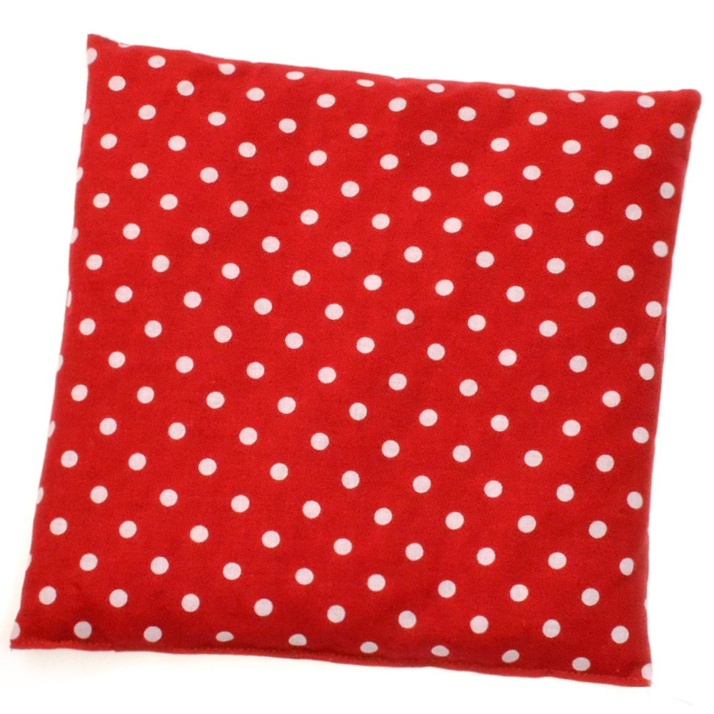 Herbalind Polka Dot Cherry Stone Cushion, Red/White Tupfen rot/weiß